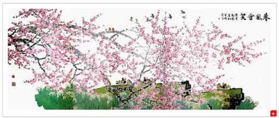 周彦生的《春风含笑》