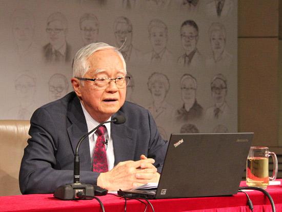 中国经济50人论坛学术委员会荣誉成员、国务院发展研究中心研究员吴敬琏