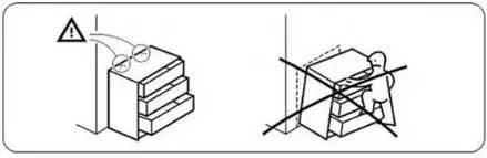 图说:在相关系列产品的说明书上标有固定提醒