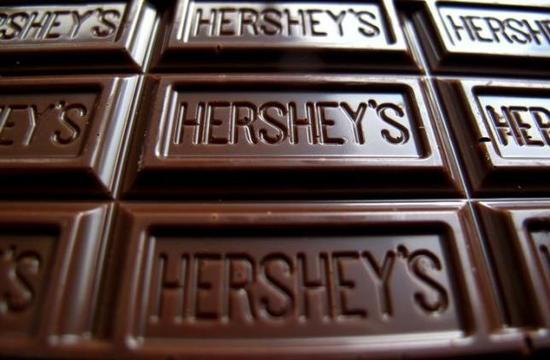 图为好时巧克力的资料图片。 REUTERS/MIKE BLAKE/FILE PHOTO