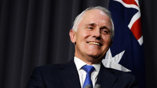 材料图:澳大利亚现任总理特恩布尔