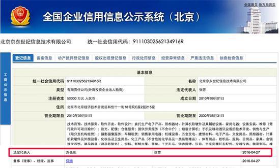 京东集团一子公司的工商资料变更,像这样的变更,在京东最近发生了很多起。 资料来源:全国企业信用信息公示系统