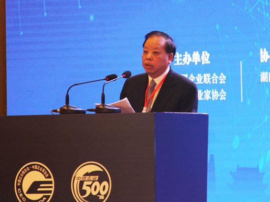 中国工程院院士、中国企联特邀副会长王基铭