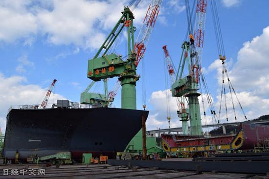 造船职业重组加速(今治造船旗下的今治工场)