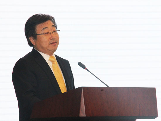青岛中德生态园管委会副主任张建国