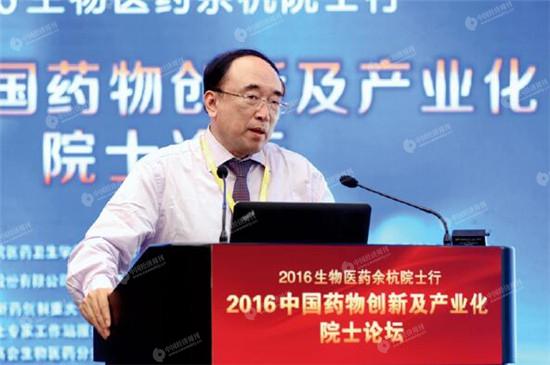 于金明院士作报告 《中国经济周刊》视觉中心 首席摄影记者 肖翊 摄