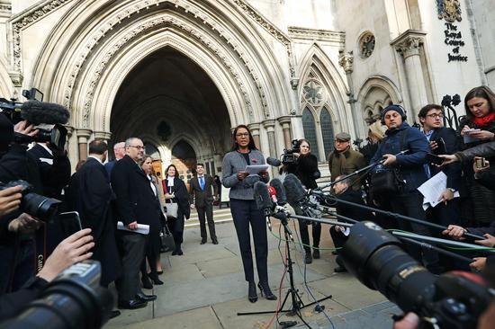 上诉到最高法院挑战英政府权威的是英国一位普通的投资经理Gina Miller。 图片来源:Dan Kitwood,Getty Images