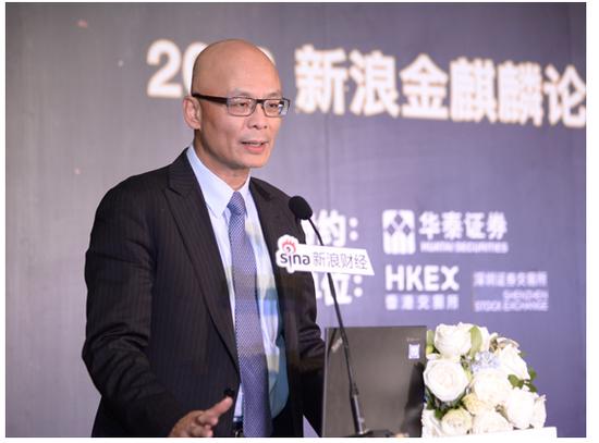 香港交易所董事总经理毛志荣
