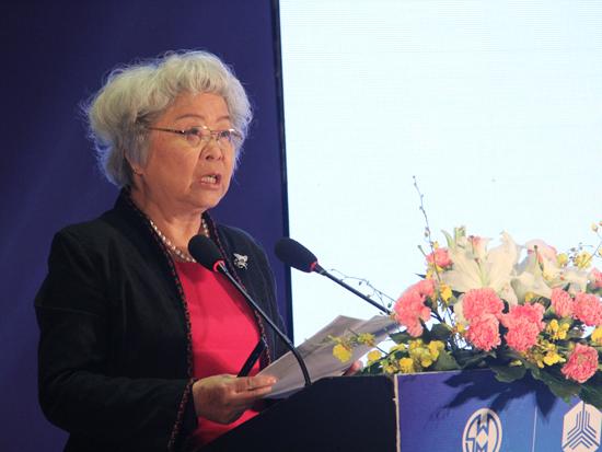 中国财富管理50人论坛学术总顾问、清华国家金融研究院院长吴晓灵