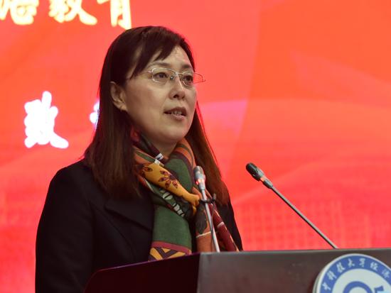 华中科技大学党委常委、总会计师-2016年中国经济学年会主席湛毅青