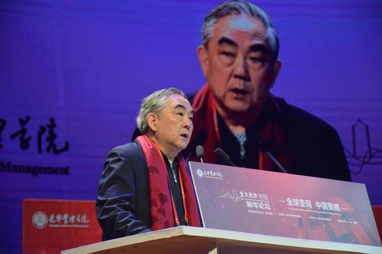 中国银监会特邀顾问,中国工商银行原行长杨凯生