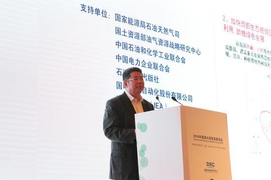中国石化股份有限公司副总裁中国工程院院士马永生