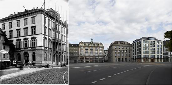固宝琳在瑞士卢塞恩100多年前买下的门店,至今仍在使用