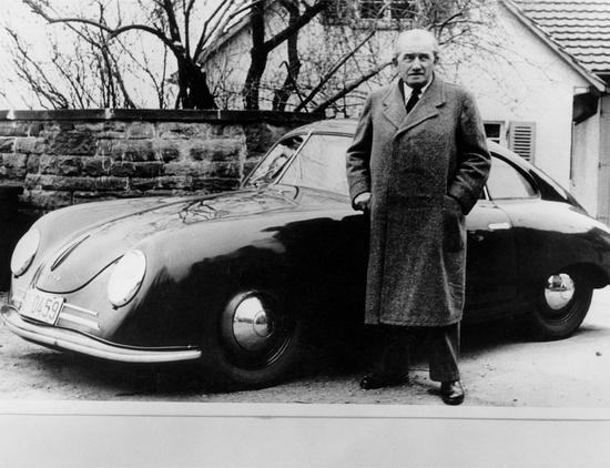 保时捷公司创始人费迪南德-保时捷,汽车行业创新的先驱