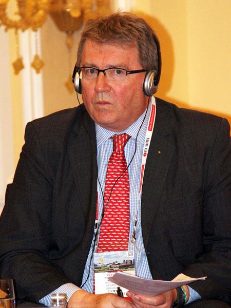 亚洲博闻执行副总裁、博闻中国集团首席代表麦高德