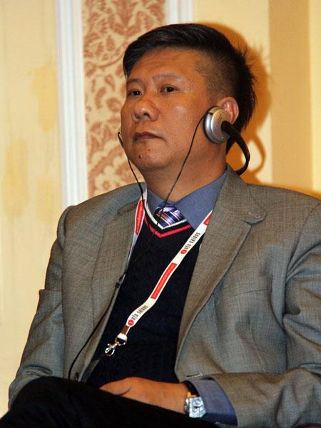 澳门乐虎国际(唯一)官方网站产业联合商会会长、汉彩广告企划设计有限公司董事总经理胡锦汉