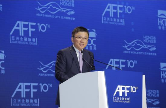 香港特别行政区财经事务及库务局局长陈家强