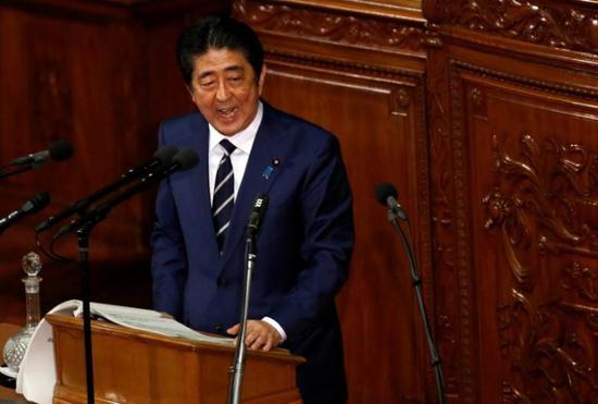 2017年1月20日,日本首相装置倍晋叁在议会发表发出产政策演说。