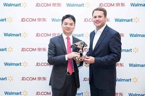 沃尔玛增持京东A类股至12.1% 中国市场有所作为