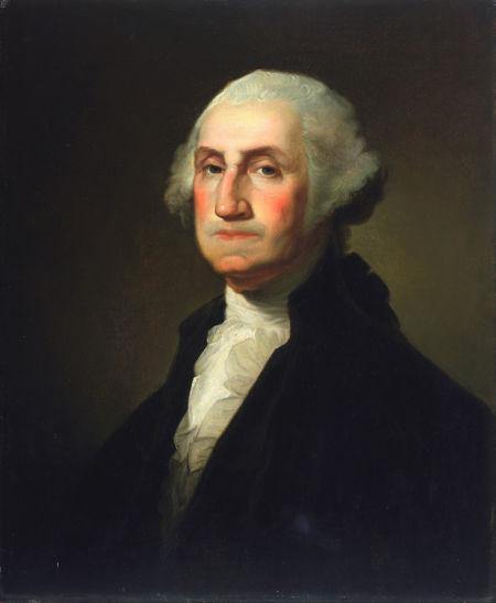 乔治-华盛顿最为常见的画像之一