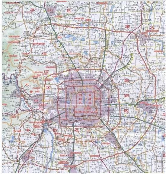 1北京,北京……你在几环上班……又在几环睡觉……