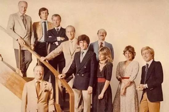 古驰家族第二、三代部分成员合影