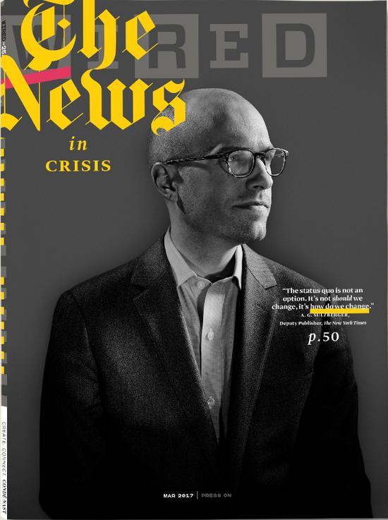 图为《连线》杂志封面