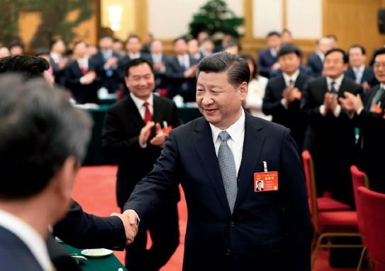 2017 年3 月5 日,習近平總書記參加上海代表團審議。新華視點
