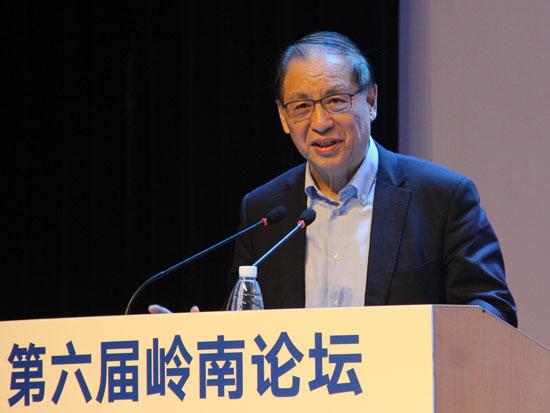岭南论坛主席、中山大学岭南(大学)学院名誉院长刘明康