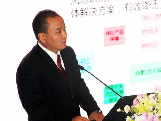 中国人民保险集团副总裁盛和泰