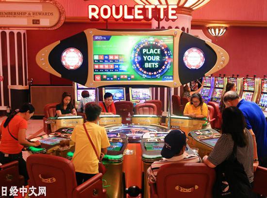 马尼拉一家赌场(2017年2月,小高显摄)