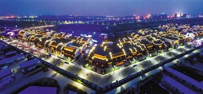 位于安徽芜湖的鸠兹古镇一期已经落成。
