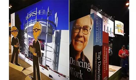 伯克希尔旗下几十家公司的产品
