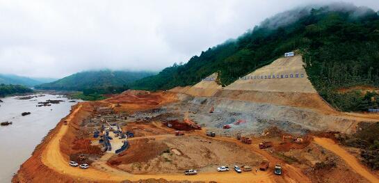 老挝南欧江水电站项目