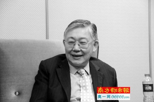 施永青接受南都記者專訪暢談灣區經濟。