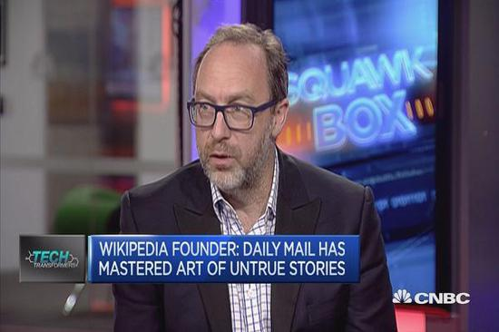 维基百科创始人吉米-威尔斯