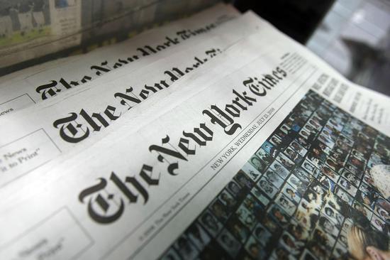 纽约时报欲裁剪编辑人员数量 手机新浪网