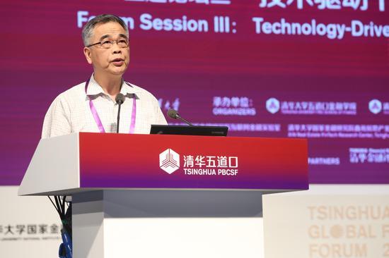 中国互联网金融协会会长李东方荣在