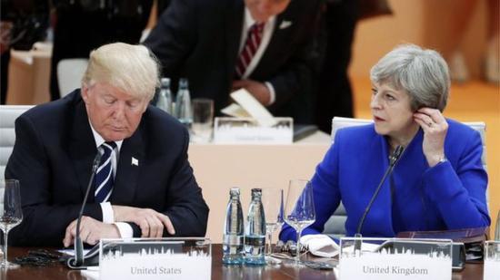 特朗普:英美贸易协定很快达成 确认将访英
