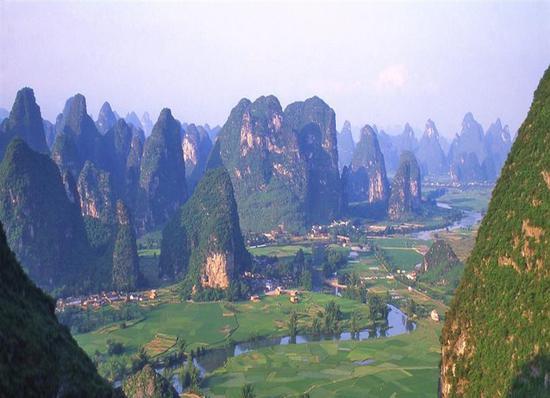 桂林山水遭破坏:采石收税100万 生态修复却花