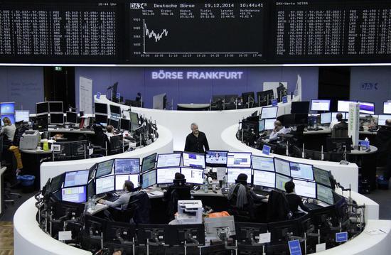 欧洲股市周三止跌反弹 英富时指数开盘上