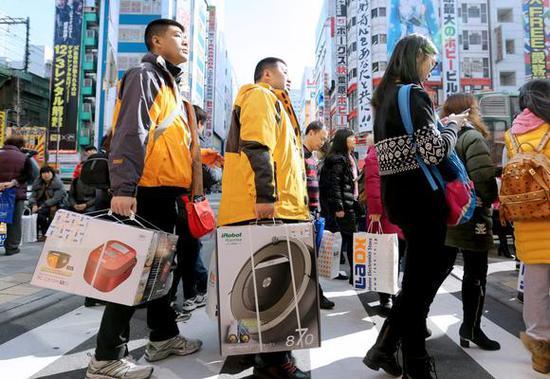 """日媒:日本靠春节""""赚翻"""" 2月旅游顺差创新高"""