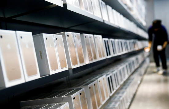 在上一个假日季,苹果平均每秒卖出九部iPhone。
