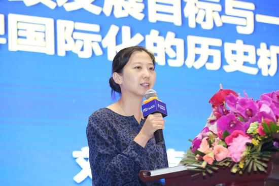 联合国全球契约组织亚洲及大洋洲总代表刘萌