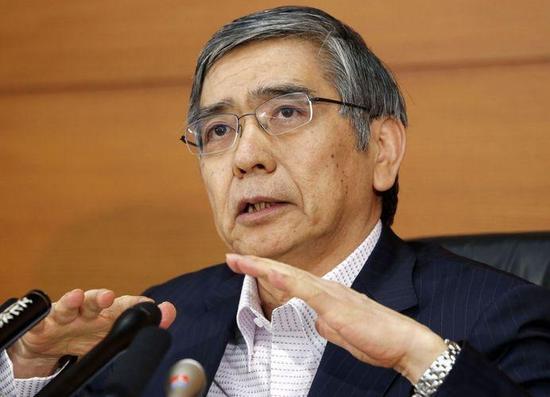 黑田东彦:预计日本央行资产负债表规模会继续扩大