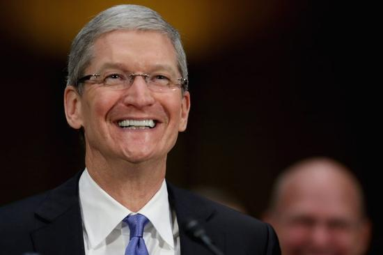 苹果CEO库克收获8920万美元股票奖励
