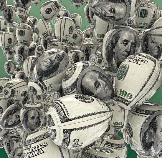 美元似乎已经淹淹一息了 / 图片来源TIME