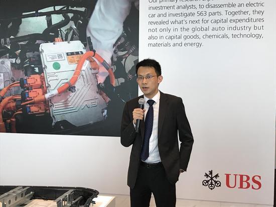 瑞银分析师:预计2025年中国电动车销量占新车15%