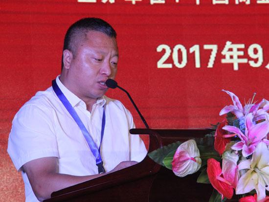 山西澳瑞特健康产业股份有限公司副总经理郭旭刚