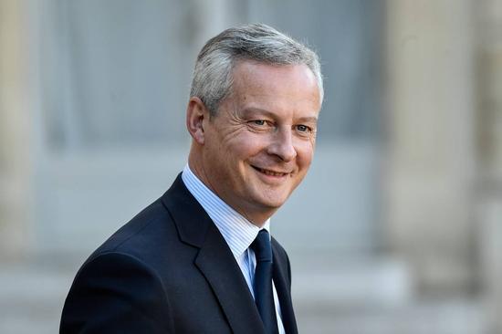 9月14日,巴黎,法國財長Bruno Le Maire。 圖片來源:ZUMA PRESS